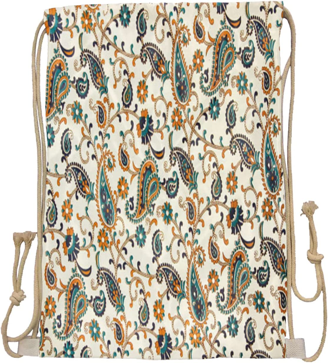 Drawstring Factory outlet backpack-bric with pattern bac capacity Nashville-Davidson Mall picture-large