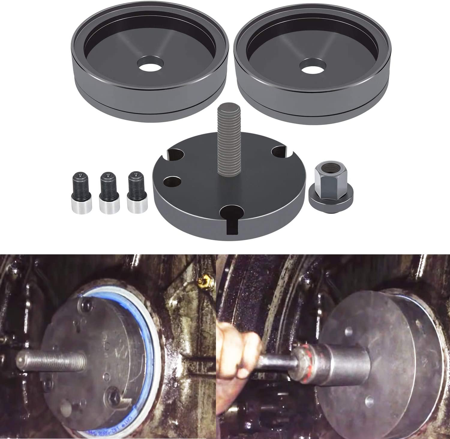 Front Rear New Popular products York Mall Crankshaft Seal Wear For Installer Caterpill Sleeve