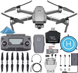 DJI Mavic 2 Zoom Drone Quadcopter + SanDisk 32GB Card + Landing Pad + Starter Kit