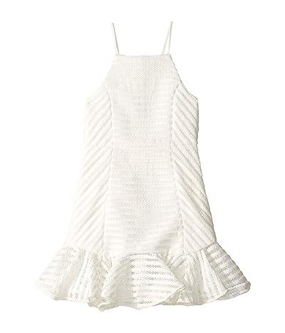 Bardot Junior Piper Dress (Big Kids) (Ivory) Girl