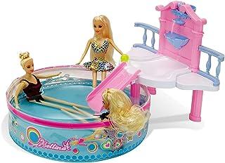 Glam Pool Playset with 11.5 Inch Beach Doll, Doll...