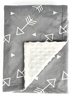 Boritar Baby Blanket Super Soft Minky with Double Layer...