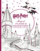 Harry Potter Magical Places & Characters Coloring Book PDF