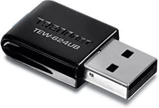 Best TRENDnet 300Mbps Wireless N USB Adapter, Compatible with Windows XP/Vista/7/8/8.1, TEW-624UB Review