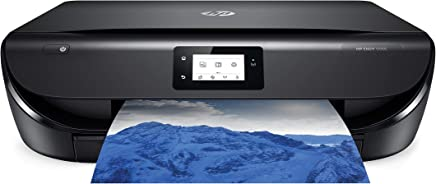 $79 Get HP Envy 5055 Wireless All-in-One Photo Printer, HP Instant Ink & Amazon Dash Replenishment Ready (M2U85A) (Renewed)
