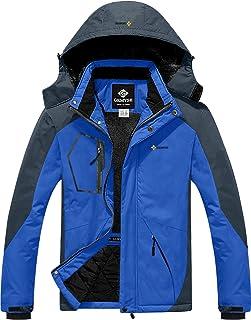 Men's Mountain Waterproof Ski Snow Jacket Winter...