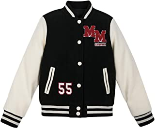 Disney Mickey Mouse Mouseketeer Letterman Jacket for Kids Multi