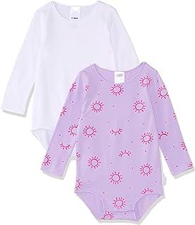 Bonds Baby Wonderbodies Long Sleeve Bodysuit (2 Pack)