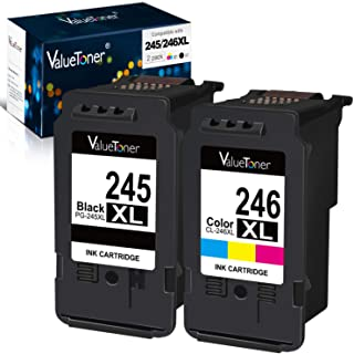 Valuetoner Remanufactured Ink Cartridge Replacement for Canon Pg-245Xl Cl-246Xl PG-243..