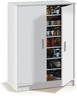 Habitdesign 007853O - Mueble zapatero Basic mueble zapatero auxiliar medidas: 101 x 75 x 36 cm fondo