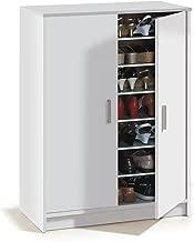 Habitdesign 007853O - Mueble zapatero Basic, mueble zapatero auxiliar, 75 x 101 x 36 cm fondo