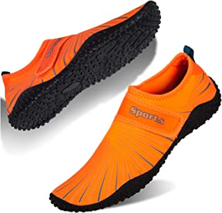 Water Shoes Mens Womens Quick Dry Beach Swim Shoes Barefoot Pool Aqua Socks Shoes for Surf Diving Outdoor Hiking Walking Water Sport