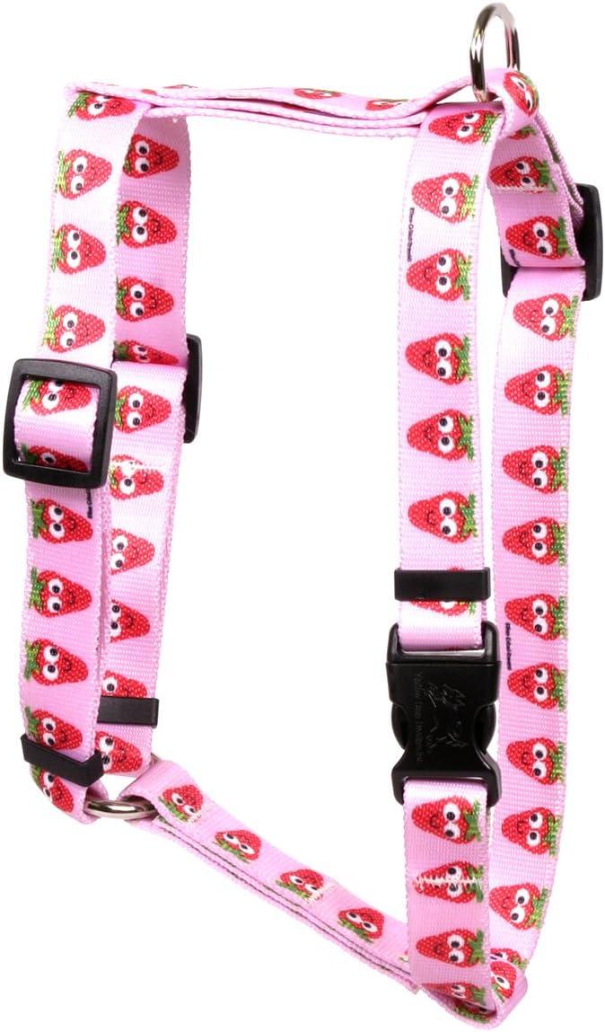 Yellow Dog Design Sweet Harness- Strawberries Style Roman Max Fashionable 73% OFF