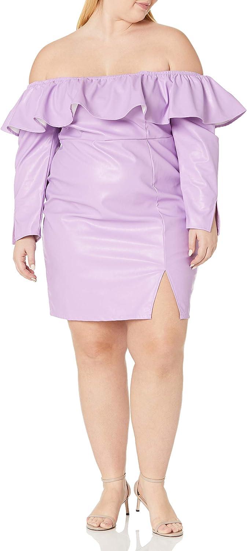 Ranking TOP13 KENDALL + KYLIE Women's Mini Regular Long-awaited Dress Off-The-Shoulder