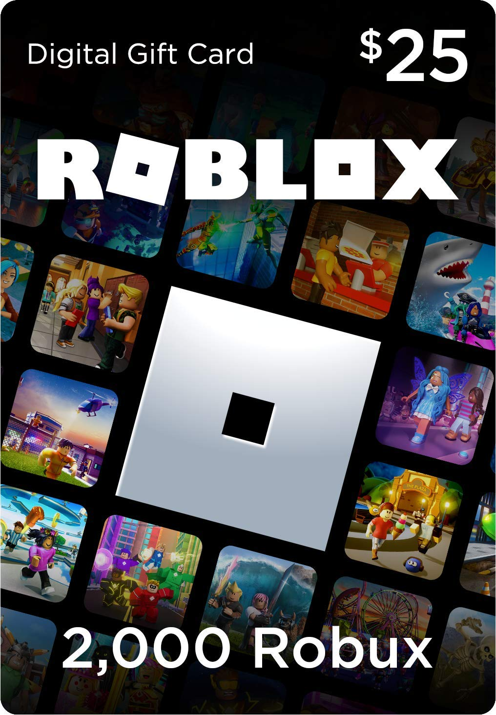 Amazon Com Roblox Gift Card 4500 Robux Includes Exclusive Virtual Item Online Game Code Video Games
