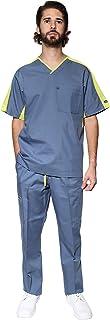 HASSAN UNIFORMES Conjunto de Uniforme Médico - Traje Completo Filipina y Pantalón Médico - Quirúrgico para Doctores - Conj...