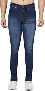 FIT DENIM Men's Slim Fit Stretch Denim Jeans