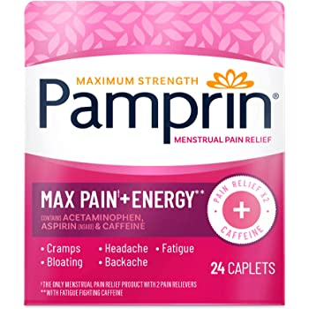 Pamprin Maximum Strength Max Menstrual Pain Relief - 24 Count