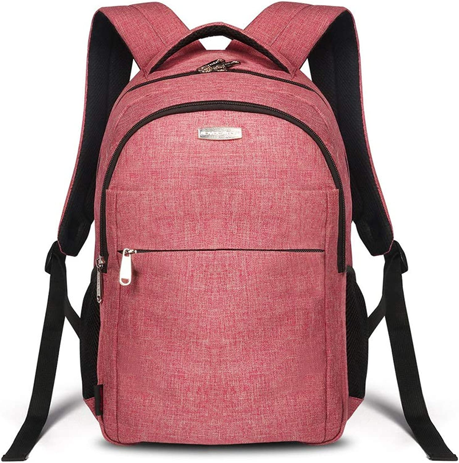 79ec68c3a99 Backpack Men and Women Students Bag Leisure Notebook Daypack Wear ...