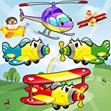 Airplane Games for Toddlers and Kids : discover the air vehicles and planes ! FREE