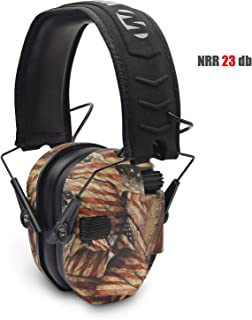 Walker's Patrior Series Electronic Muffs Right to Bear Arms