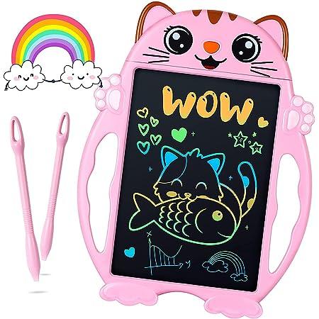 Geschenke für Mädchen LCD Schreibtafel Elektronisch, Mädchen Spielzeug ab 3 4 5 6 7 8 Jahre Zeichentablett Kinder Geburtstagsgeschenk, Maltablet Kinder Spielzeug Mädchen Geschenke Weihnachten