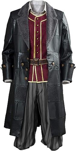 Tollstore Kingdom Hearts III Kingdom Hearts 3 Pirat Sora Cosplay Kostüm NEU Herren XL