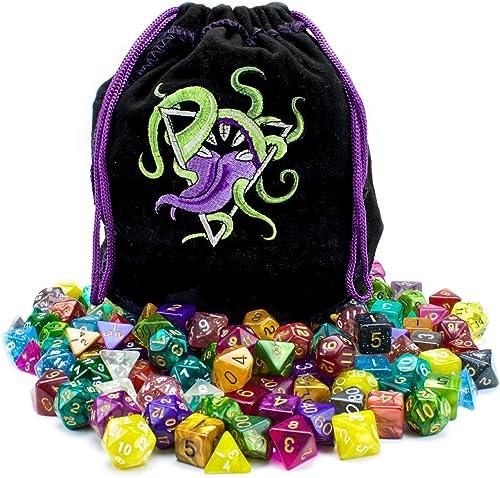 te hará satisfecho Wiz Dice Bag of of of Devouring  140 Polyhedral Dice in 20 Guaranteed Complete Sets by Wiz Dice  punto de venta barato