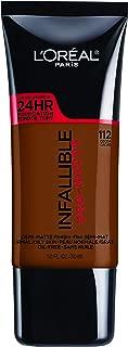 L'Oreal Paris Infallible Pro-Matte Foundation, Cocoa [112] 1 oz