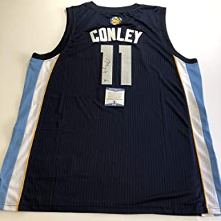 Mike Conley Autographed Signed Jersey Bas Beckett Authentic Memphis Grizzlies Autographed Signed