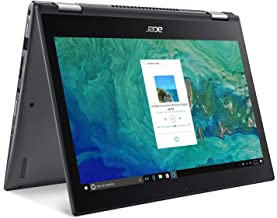 "Acer Spin 3 SP314-51-59NM, 14"" Full HD IPS Touch, 8th Gen Intel Core i5-8250U, Alexa Built-in, 8GB DDR4, 256GB SSD, Steel ..."
