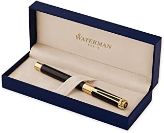 Waterman Perspective Black, Gold Trim RB