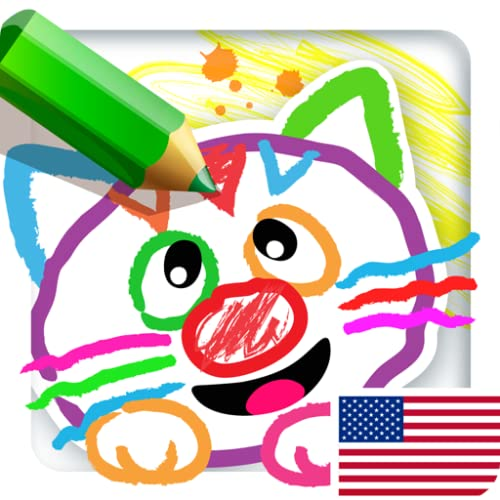 DRAWING FOR KIDS: ALL DRAWINGS COME TO LIFE! Babies Learn to Draw Animals in Coloring Book & Baby Painting Games for Kindergarten! Children Animal Learning Toddlers Apps! Toddler Educational Paint Game 4 Preschoolers FREE 2, 3, 5 Year Olds Girls Boys