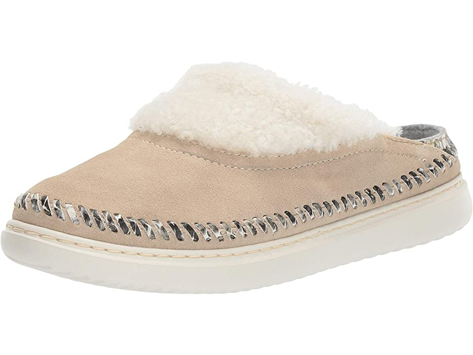 Cole Haan 2.ZeroGrand Convertible Slip-On (Warm Sand Suede/Roccia Snake Print/Ivory Shearling/Ivory) Women