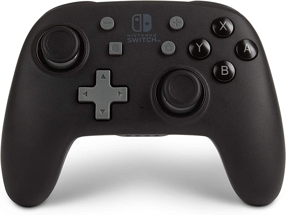 PowerA Nano Enhanced Wireless Controller for Nintendo Switch - Black, Works with Nintendo Switch Lite, Bluetooth Controller, Gamepad, Compact, Smaller, Rechargeable, Portable - Nintendo Switch