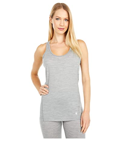Smartwool Merino 150 Baselayer Tank Top (Light Gray Heather) Women