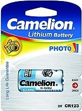 Camelion Pila Fotográfica CR123A Blister 1Ud, 3V, Lithium-Batterien