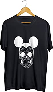Camisetas Camisa Caveira Masculino Preto
