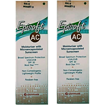 Episoft AC Sunscreen Lotion (75 gm) (Pack of 2)