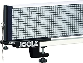 JOOLA Premium Avanti Table Tennis Net and Post Set - Portable and Easy Setup 72 Regulation Size Ping Pong Screw On Clamp Net