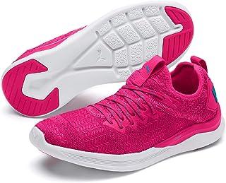 PUMA Women's Ignite Flash IRIDES TZ WNS Outdoor Multisport Training Shoes, Fuchsia Purple-Caribbean Sea