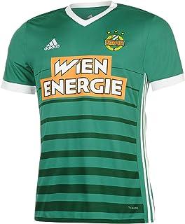 adidas 2017-2018 Rapid Vienna Home Football Soccer T-Shirt Jersey