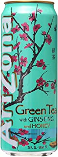 Arizona Green Tea With Ginseng And Honey, 340 ml, 117014