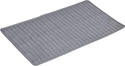 Yellow Weaves? Non Slip PVC Bath/Shower mat with Anti Slip Suction Cups