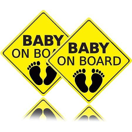 Baby on Board Child Full Color Adhesive Vinyl Sticker Window Car Bumper #071