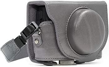 MegaGear Ever Ready Leather Camera Case Compatible with Sony Cyber-Shot DSC-RX100 VI, DSC-RX100 V, DSC-RX100 IV, DSC-RX100 III