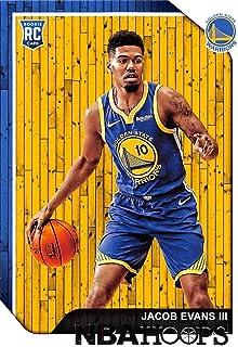 d1f9bec37af 2018-19 NBA Hoops Basketball #279 Jacob Evans III Golden State Warriors RC  Rookie