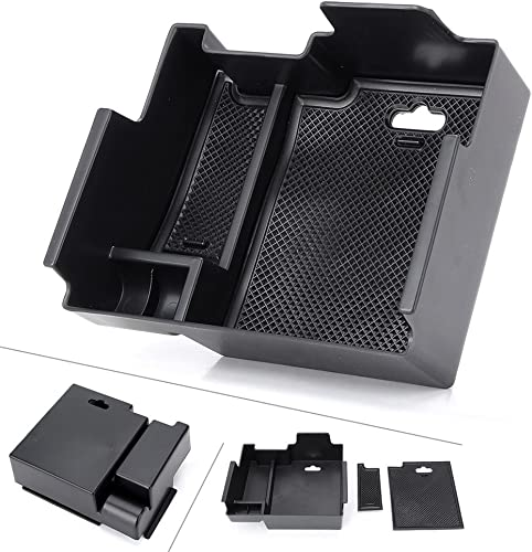 2021 Mallofusa Interior Car Center Console Armrest Storage Organizer lowest Holder Tray popular Box Compatible for Ford Explorer 2013-2018 outlet online sale