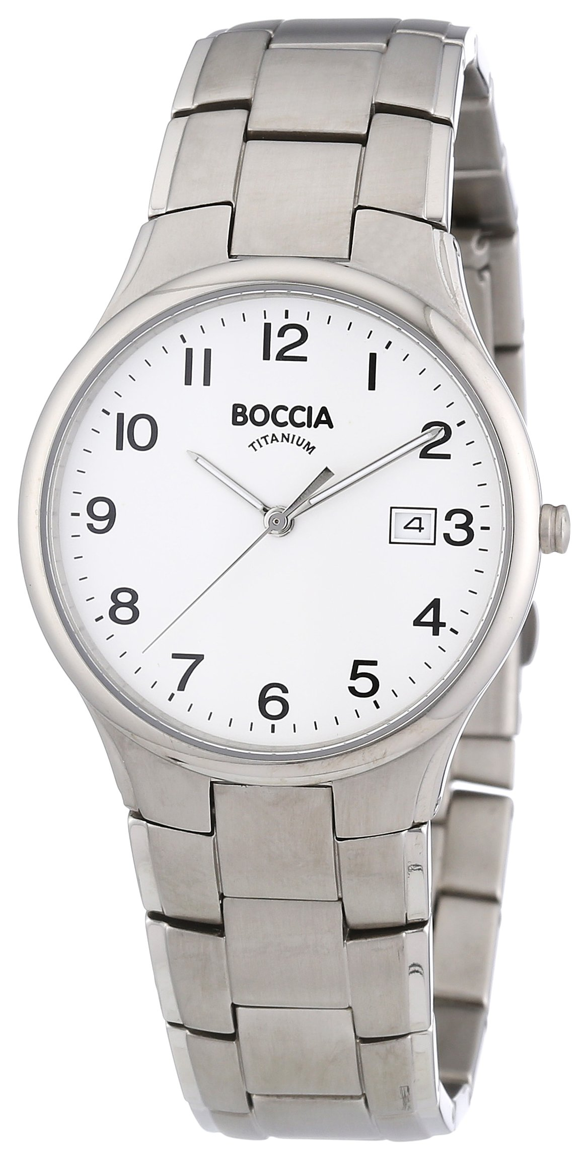 Boccia Trend 3512-08 Gents Watch with Metal Strap