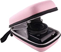 WERJIA Hard EVA Travel Case for Canon PowerShot SX720 SX620 SX730 SX740 G7X Digital Camera (Pink)